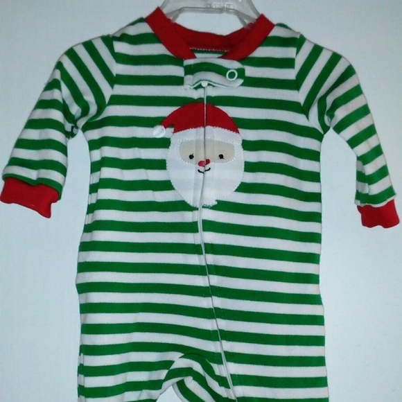 6165ca5be Carter's Pajamas | Carters Just One You Santa Boys New Born Sleeper ...